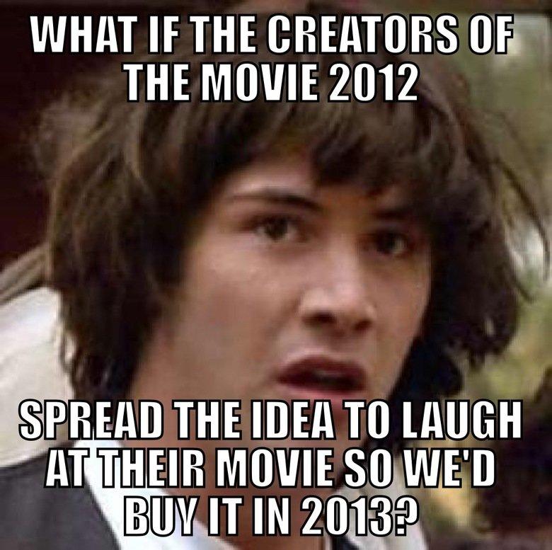 2012 Conspiracy Keanu. Those Brilliant Bastards!. Keanu conspiracy