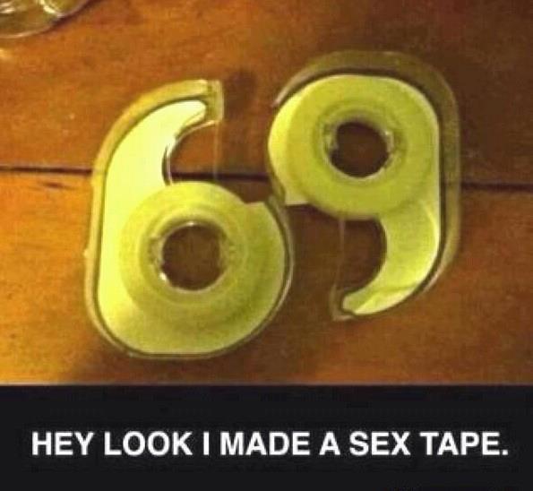 69. .. must be pretty sticky... 69 must be pretty sticky