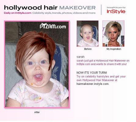 Baby makeover. . Damn Babys