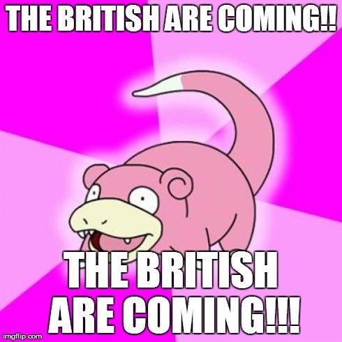bad call. . slowpoke american revolotion british funny OC