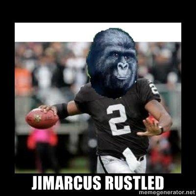 Bad Luck Oakland Raiders. . Jamarcus the hutt