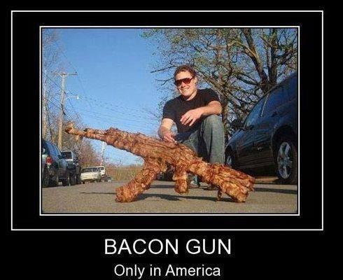 BAGUN!!!. . BACON Only in America. roll image BAGUN!!! BACON Only in America roll image
