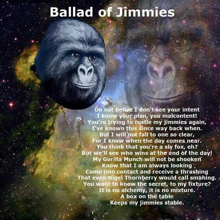 Ballad of Jimmies. .