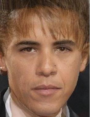 Barack Bieber. .. I don't know how to respond to this. Barack Obama Jus