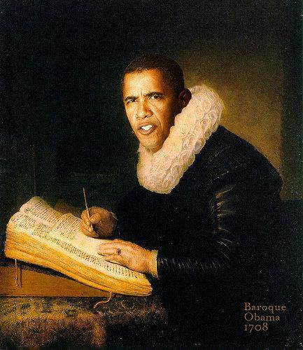 Baroque Obama. via: www.classybro.com/. Baroque Obama via: www classybro com/