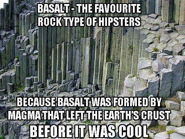 Basalt - Hipster's Favourite Rock. . Basalt - Hipster's Favourite Rock