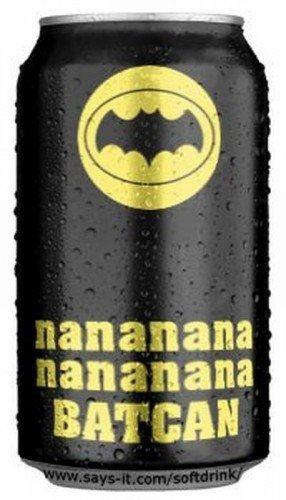 BATCAN!. . jellal ital Ill batman man bat can batcan Adam west funny
