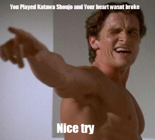 BATEMAN. You sly dog.. My heart was broke so hard. rinisbestkatawa feels KatawaShoujo bateman tomanyfeels