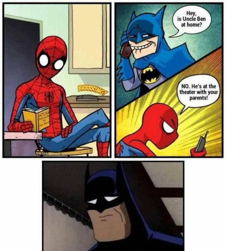 Batman got burnt. . Batman got burnt