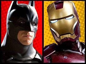 Batman VS Iroman. Batman or Ironman, both are rich, players, and awesome superheros... Money fight! batman vs ironma