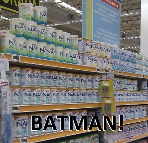 BATMAN. .. NANANANANANANANA DENDE! BATMAN NANANANANANANANA DENDE!