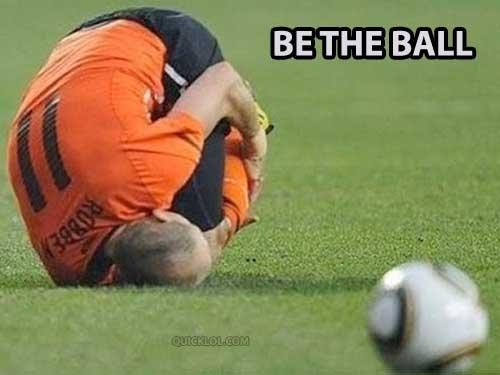 Be The Ball. .. Love the ball Be The Ball Love the ball