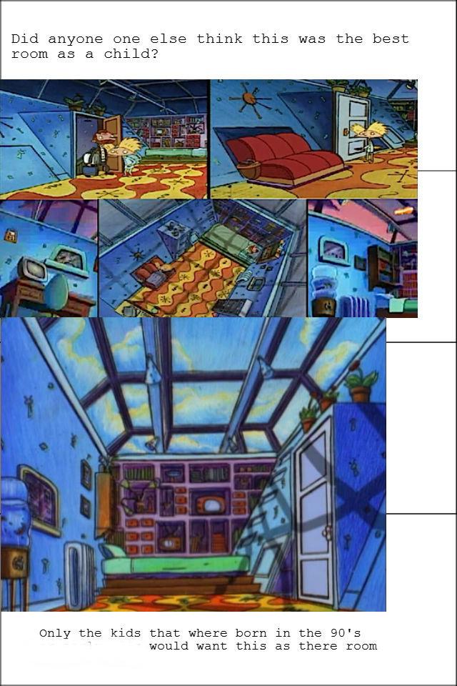 hey arnold bedroom show home design