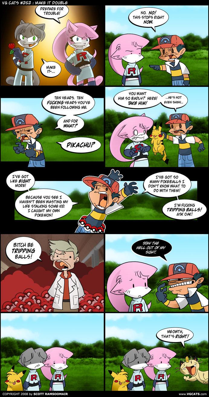 Best Pokemon comic ever. not oc, from vgcats.com . original work by sam rasmussen i believe. this is the funniest pokemon comic i've ever seen. PREPARE mt? Ho.  Pokemon comic PIKACHU