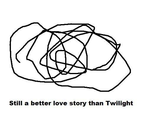 better. than twilight.. gtfo better Love story than twilight