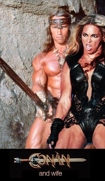 Beyonce the Barbarian. Beyonce want snu-snu. Beyonce the Barbarian want snu-snu