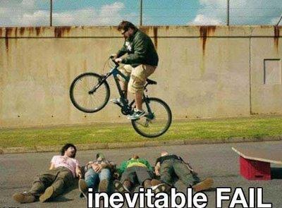 Bike fck. haven't seen it around here hurr durr. fat guy on bike