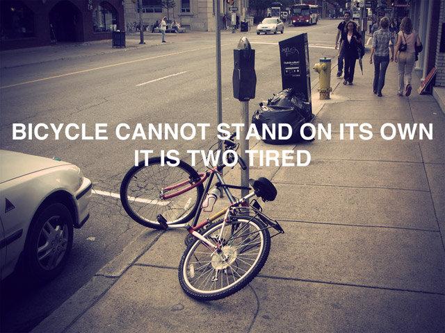 Bike Pun. . bike pun