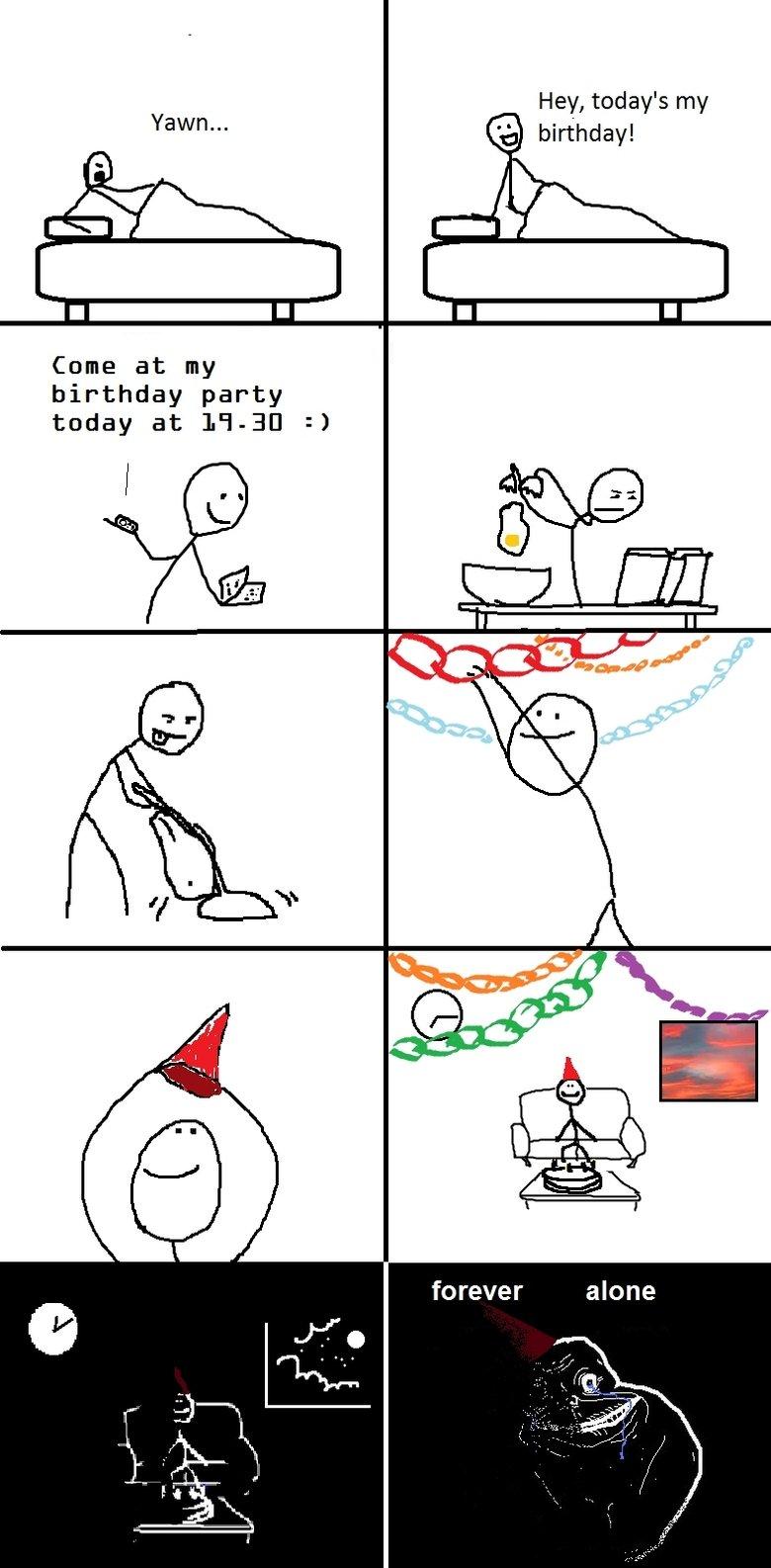 Birthday Party. .. retoast Birthday Party retoast