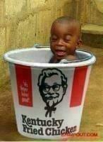 black baptism. need i say more?.. ? black baptism KFC Racist