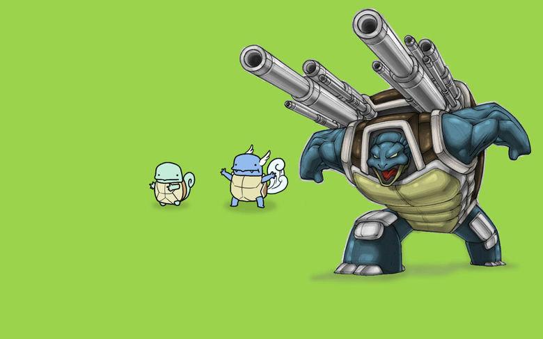Blastoise. Gotta Catch 'em All. blastoise Pokemon evolution
