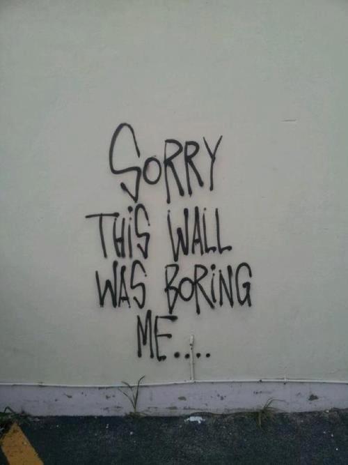 boring wall. . boring wall