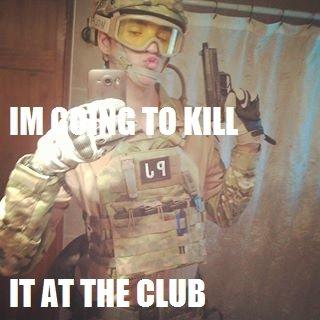 Born Killer. . IT AT THE (NIB military duck fa