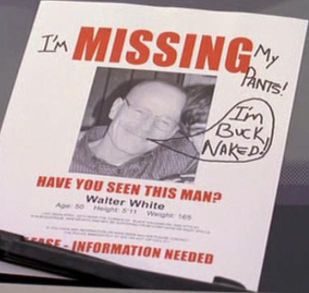 BrBa. Breaking Bad's season 2 summed up in one poster. breaking bad