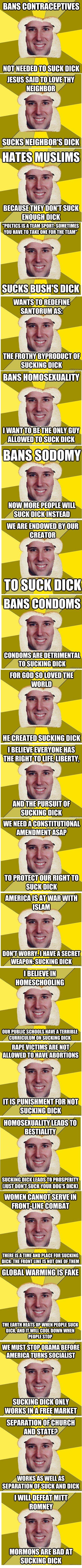 Breadfriend Santorum. You have to know the meme first. breadfriend santorum