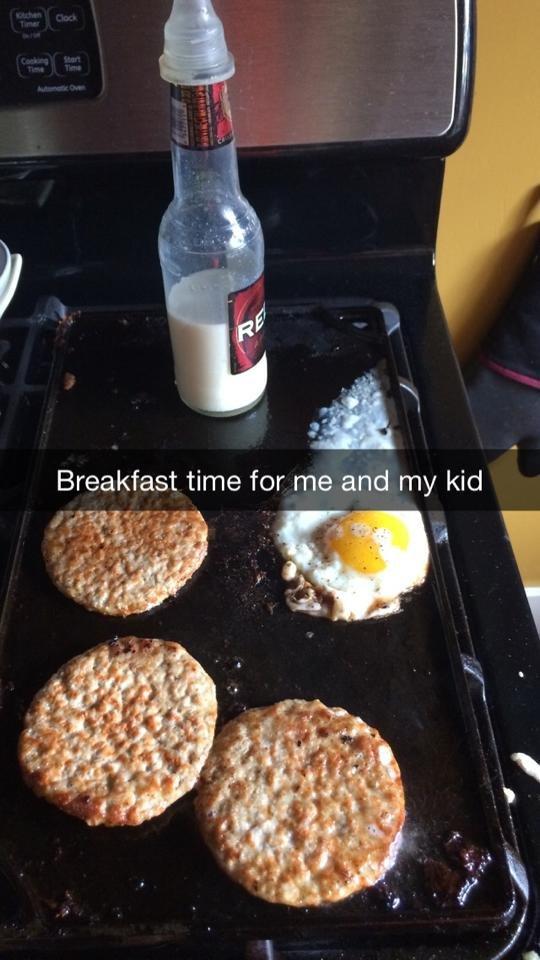 Breakfast of champions. . funny breakfast OP