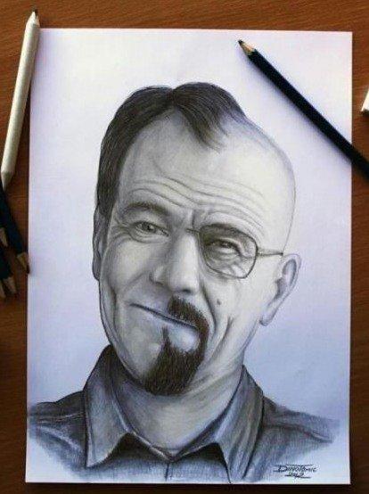 Breaking Bad Drawing!. . Breaking Bad Drawing!