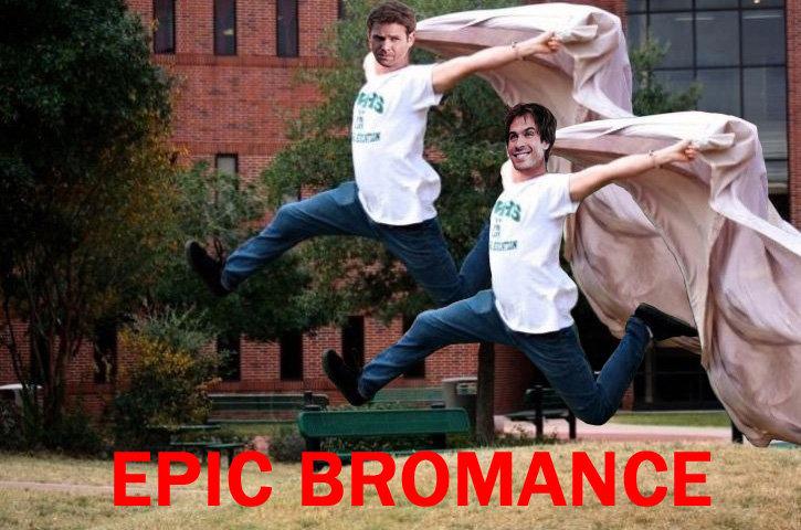 Bromance. . Vampire bromance epic majestic