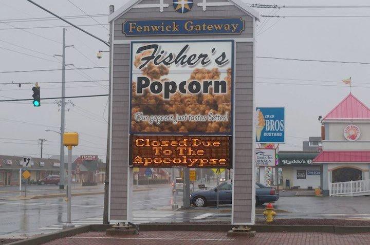 but muh popcorn. . closed