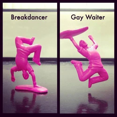 Fabulous. desc. Gay Waiter