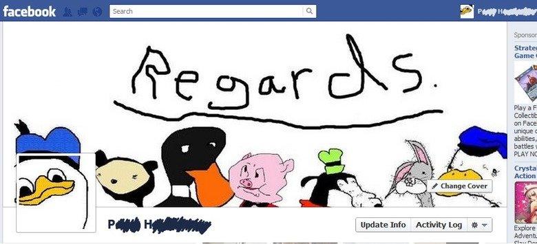 Facboke timelne. .. No. dolan facebook