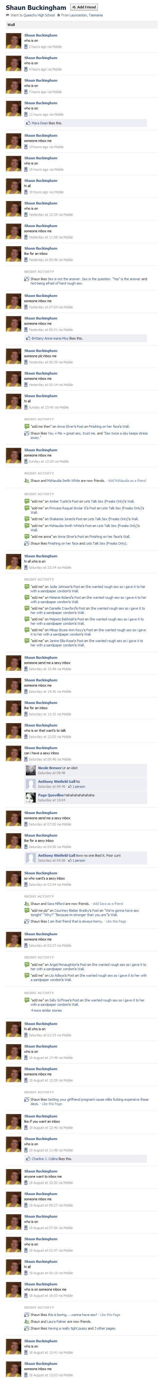 Facebook (1). . Shaun Budd geam E ?hoos ago Hobie E Theos ago ( E .. hours ago ild Hobie sh Mara Dean was ths E ago ild .555 all E .5 hours ago ( Hobie 5. 5.... facebook