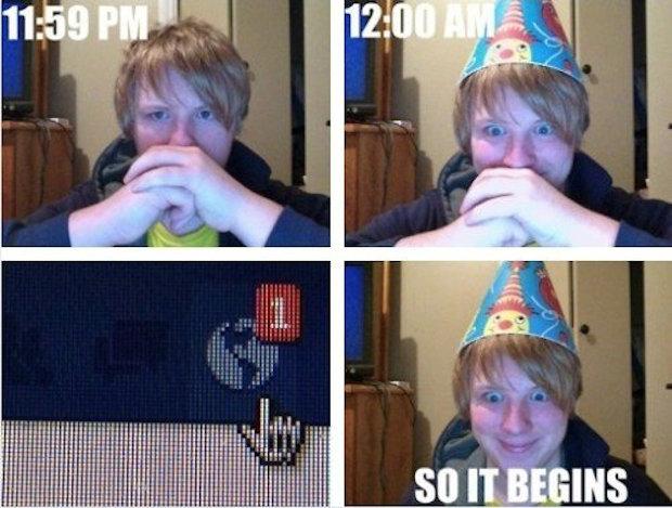Facebook Birthday. . Facebook Birthday