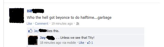 Facebook Half Time. . facebook superbowl half time beyonce