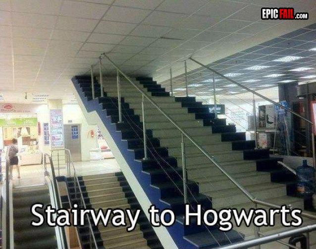 Fail StairCase. Fail. Fail StairCase