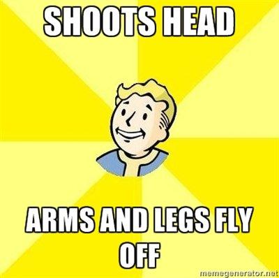 Fallout 3. Bloody mess perk. Penis ballsack OP is a faggot fuck im