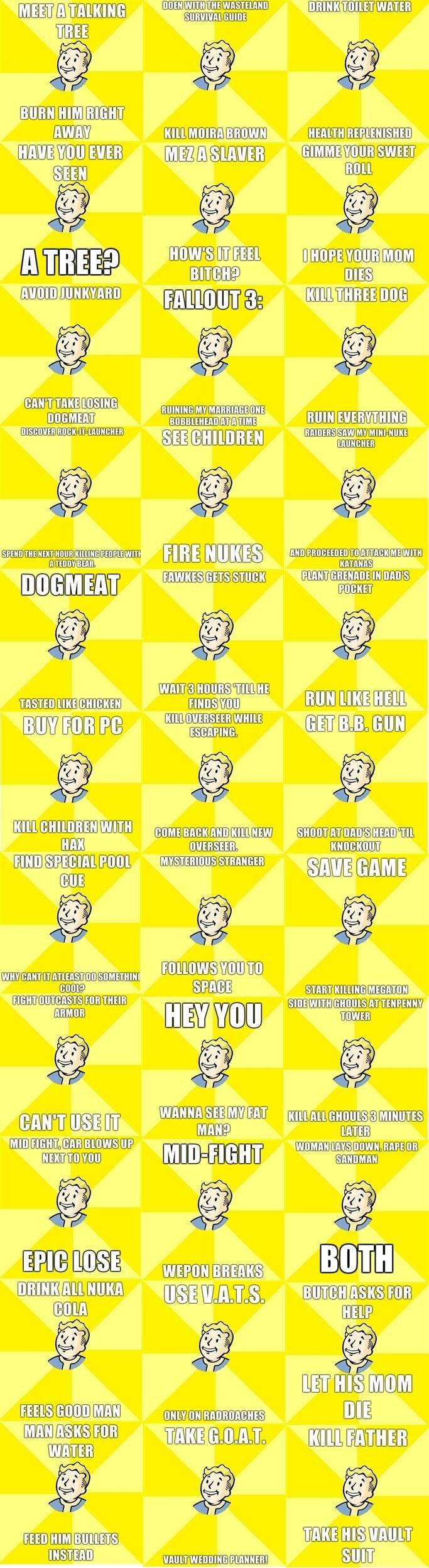 "Fallout Compilation. Fallout Compilation, enjoy. fii"" aii! Cirillo) 2 SERGE lap lolgif]  bras, Mlg) awaii""' , tir Efl) flf?. Make More NOW Fallout Compilat"