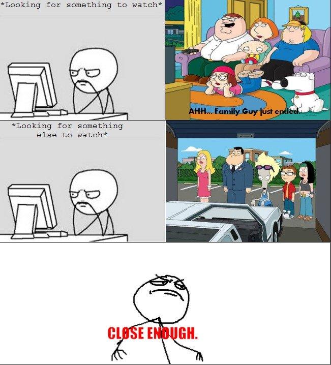 Family Guy vs. American Dad. . Linking far samething to watch' Linking for sumething else to watch Family Guy vs American Dad Linking far samething to watch' for sumething else watch