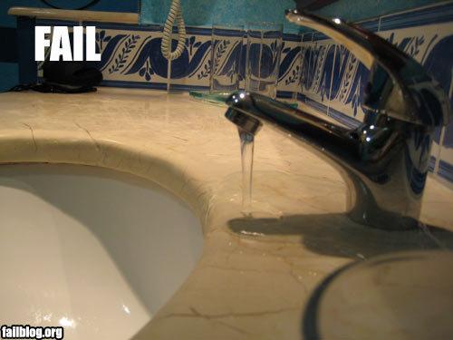 Faucet Fail. Fail.. I dont give a thats faucet! fail