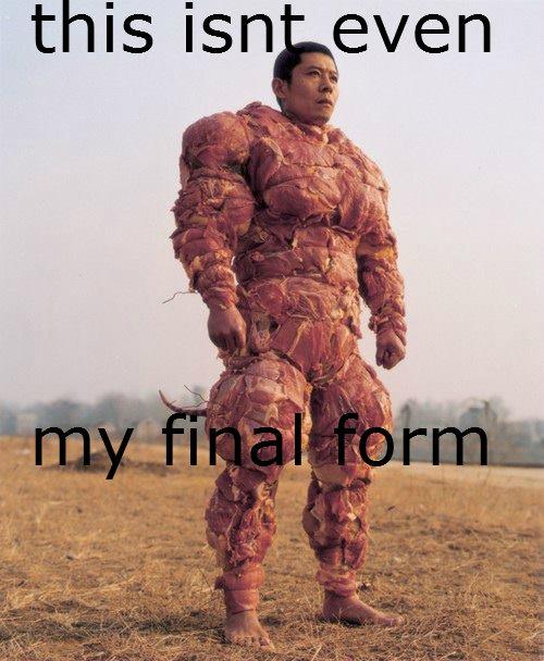 final form. .. Vegetarian final boss. my final form nuhka