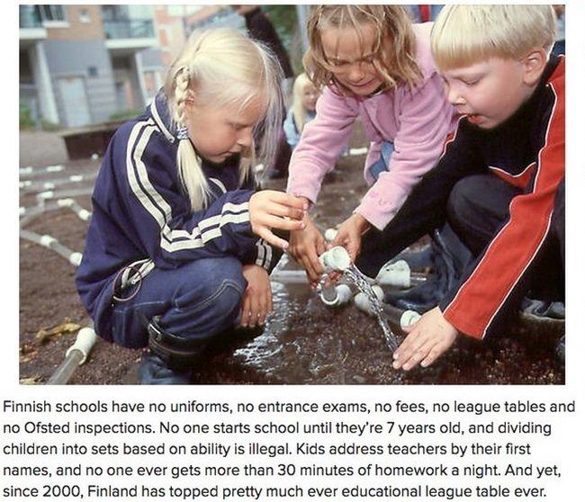 Finnish School. .. What can I say, They always Finnish on top. finnish Finland School Education