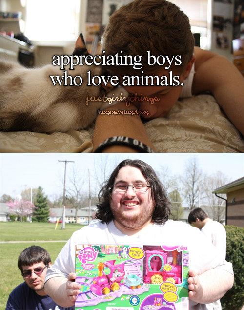 "fitting title. lazy joke. appreciating boys htt' ti. ili'' ; love animals. Ati/ tfs"". furries hue hue hue brony neckbeard cringe Fedora justgirlythings tumblr pony MLP My Little Pony Animals"