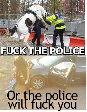 Fk te polic. OC.. what thing?