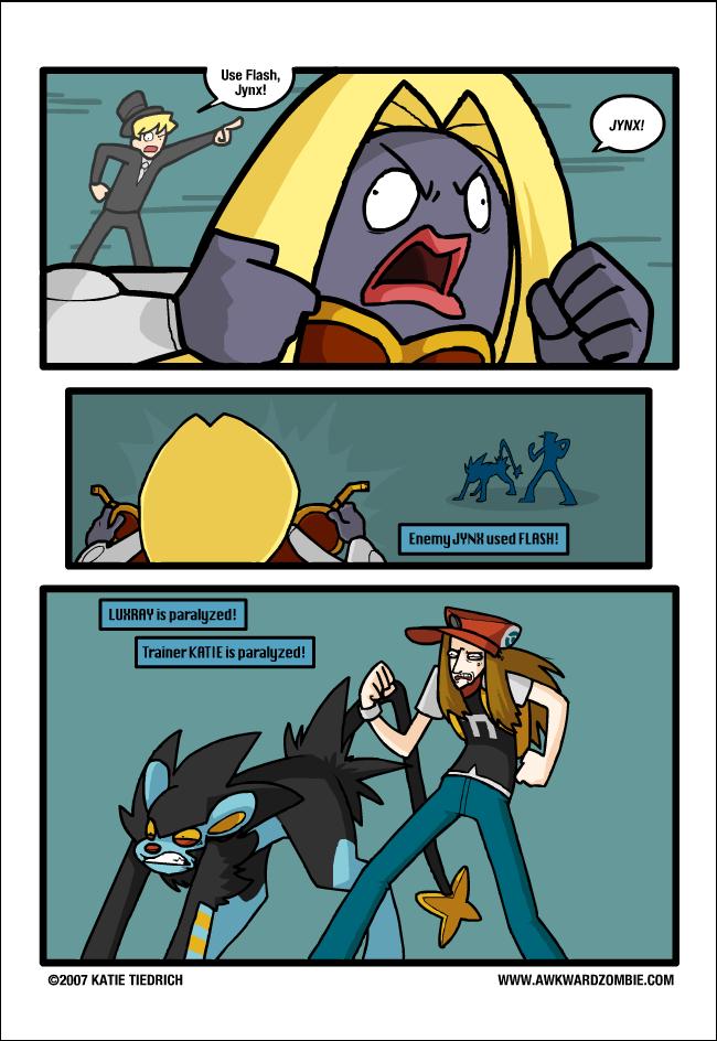 flash. . Pokemon Luxray