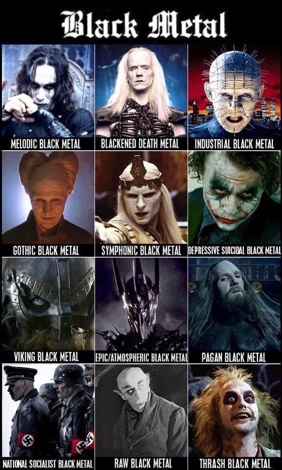"For the Black Metallers. . l/ lil/ ; BLACK HEM DEATH METAL ' lall. ISHFISH BEECH iii"" HMO[ Hal HUM HEM black metal"