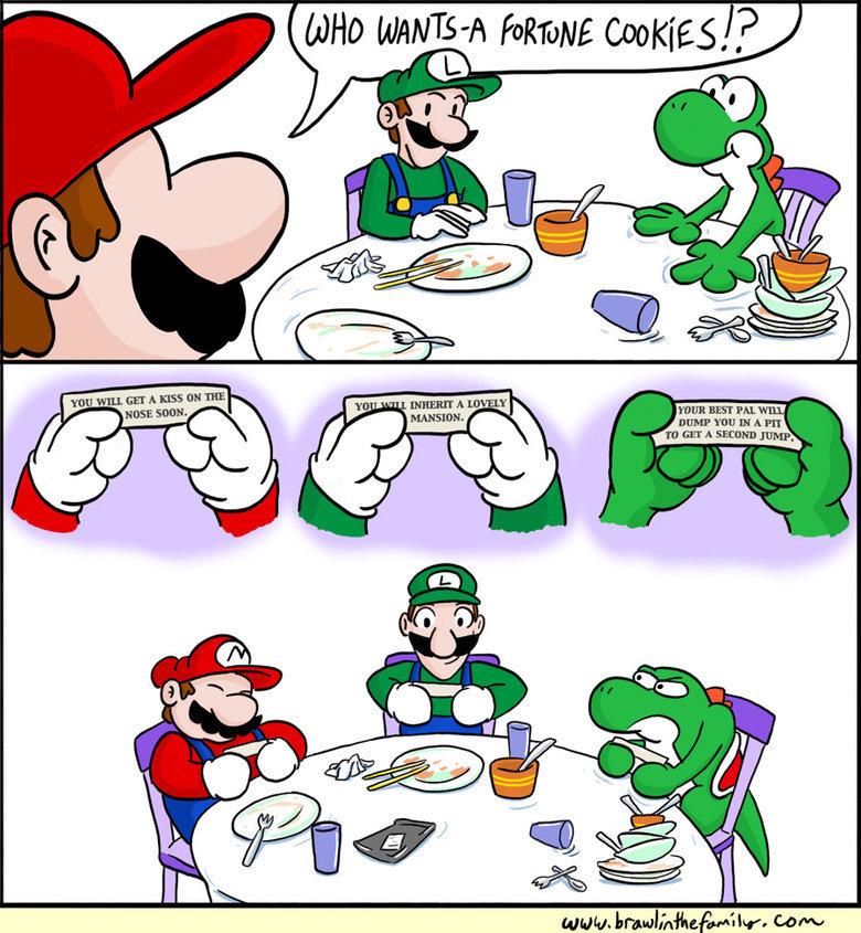 Fortune Cookies. . tht fatal ahs JMU'. Getting real tired of your , Mario. Fortune Cookies tht fatal ahs JMU' Getting real tired of your Mario